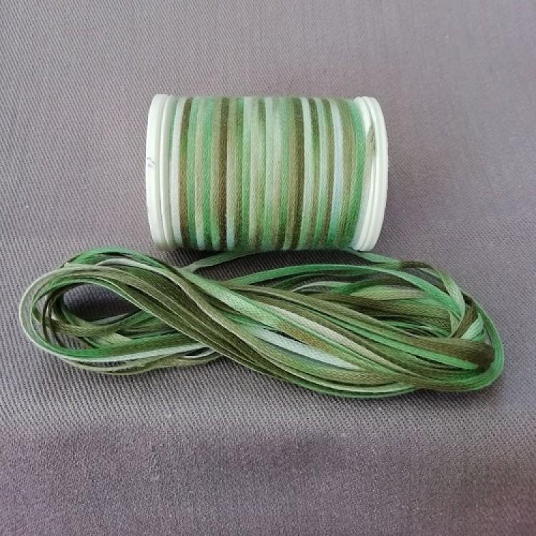 Braid 5m - Green to Tan