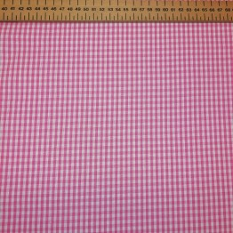 Gingham Pink Small