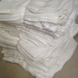 Organic Cotton 25 Muslin Cloths 120x120cm  wholesale