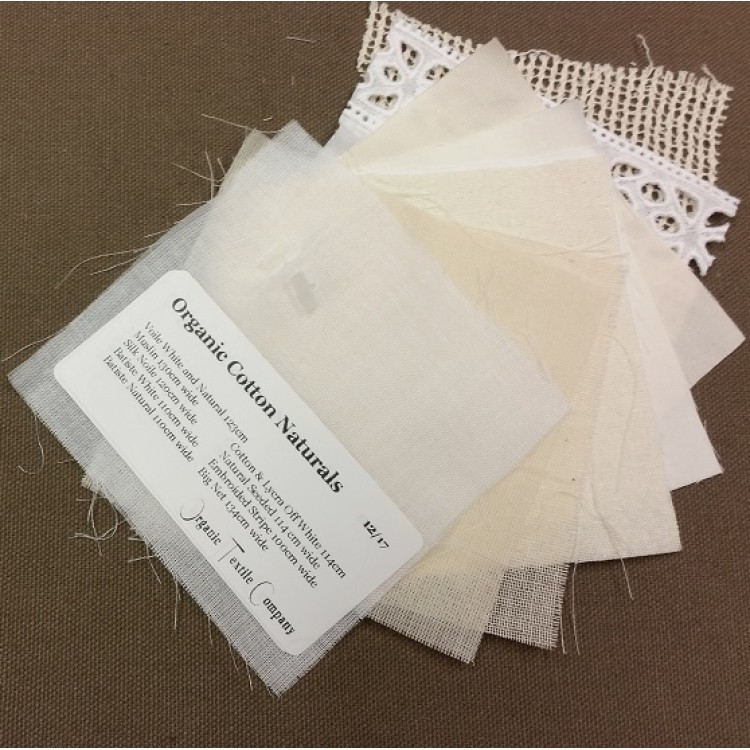 Organic Naturals - Fabric Samples
