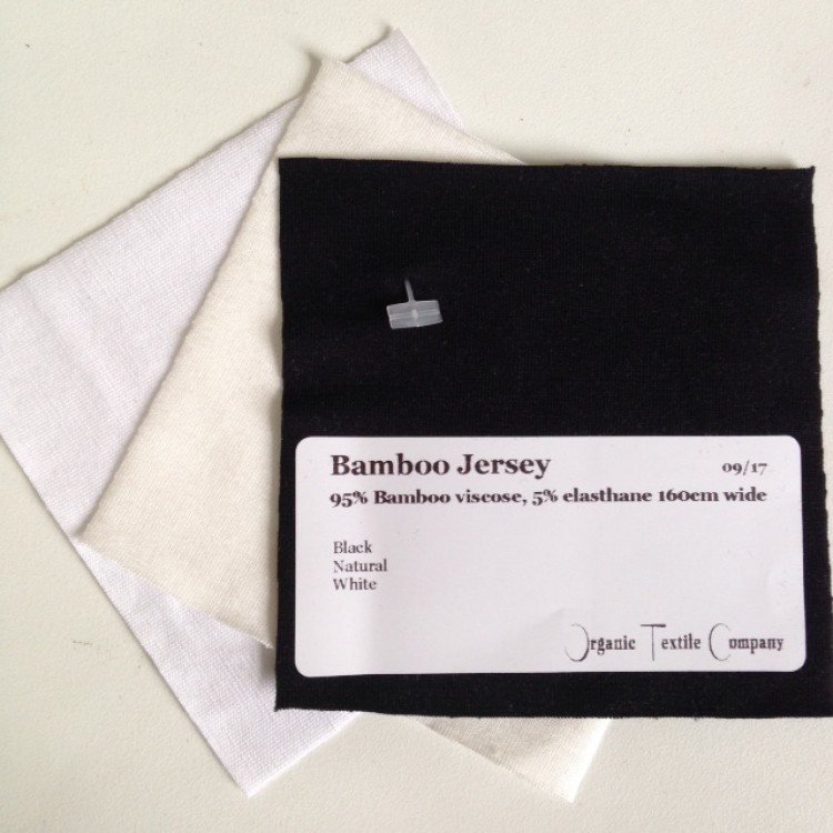 Bamboo Jersey - Fabric Samples