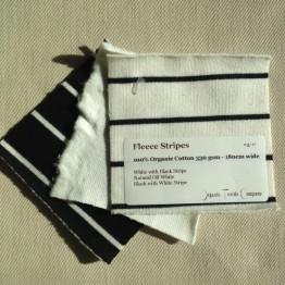 Fleece Stripes - Fabric Samples