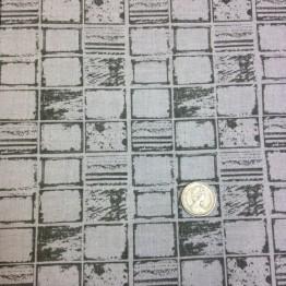 Crossweave X Scratch Funky Prints - Stone Squares