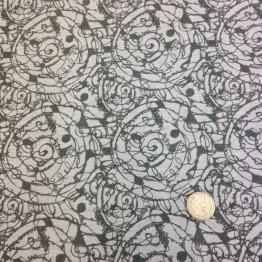 Crossweave X Scratch Funky Prints - Stone Spirals