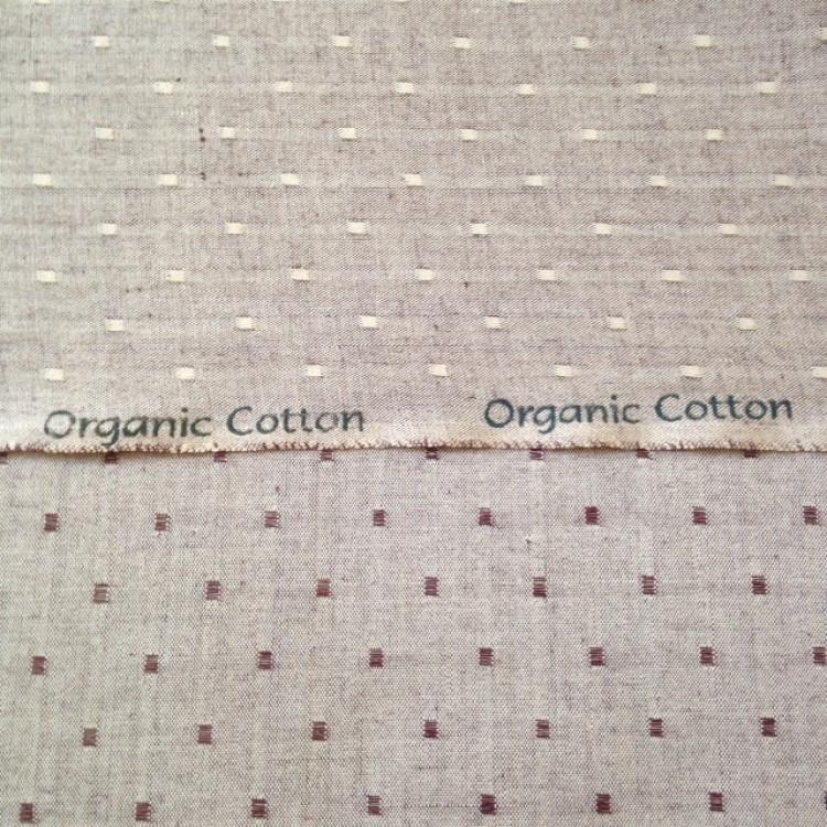 Crossweave Spot - Linen Look
