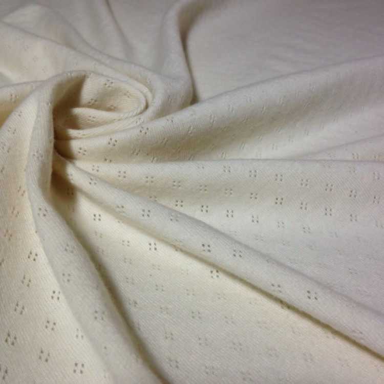 Jersey Pointelle Holetex Natural