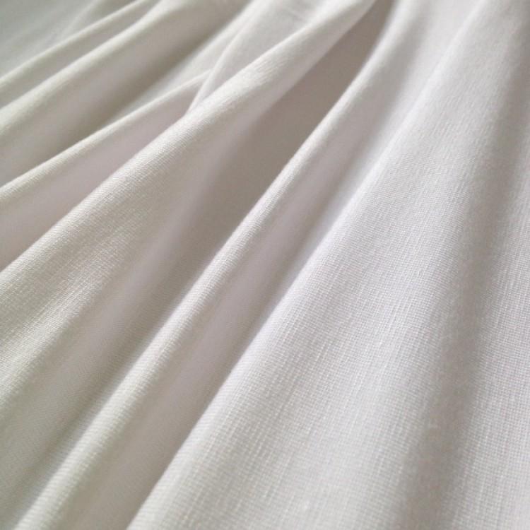 Jersey Bamboo White