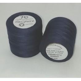 Thread Midnight - Sewpure Tex 40 - 500M