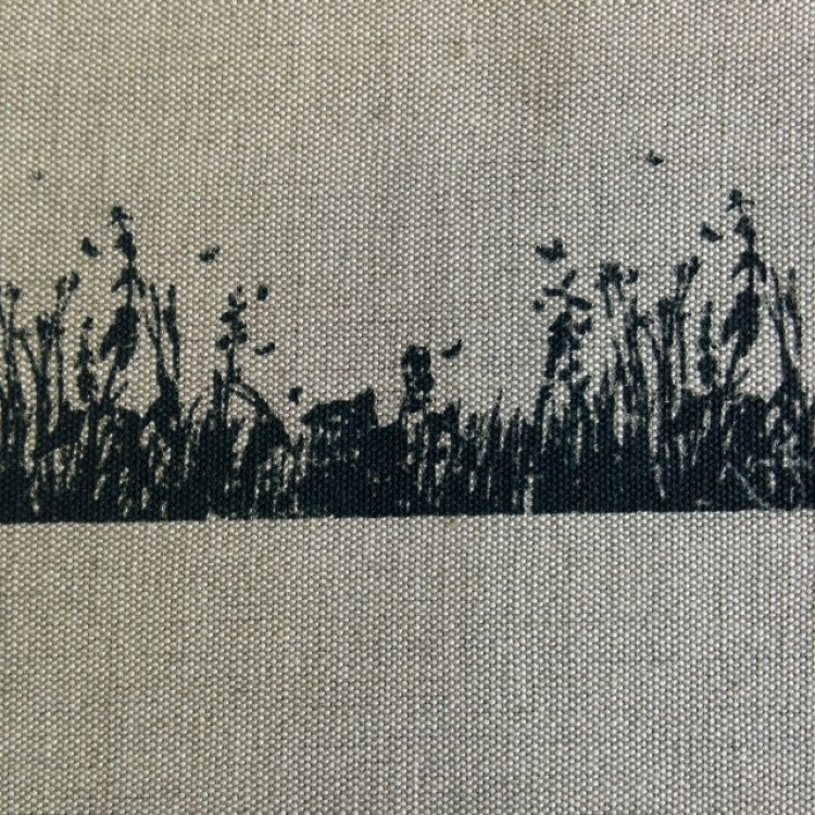 Border Grasses on Stone