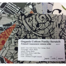 Funky Scratch Prints - Fabric Samples