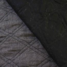 Quilting Black Crossweave/ Black Sateen