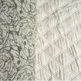 Quilting Spiral Stone/Pearl Crossweave