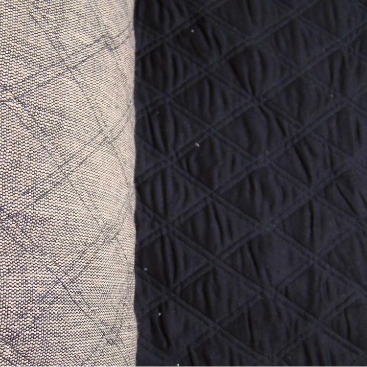 Quilting Neutral Texweave/Black Crossweave