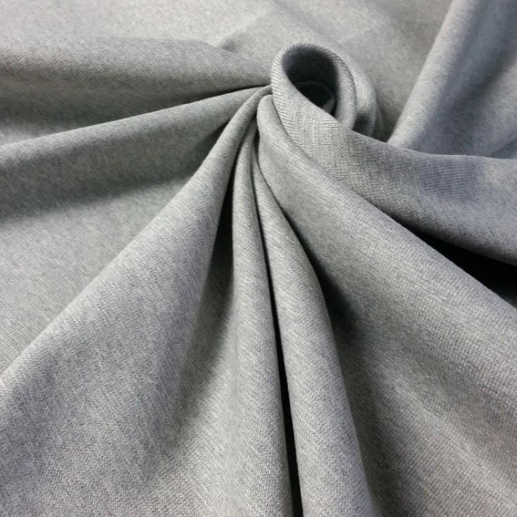 Jersey Rib Cuff Grau Melange (Grey marl)