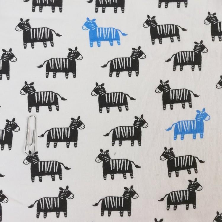 Jersey Interlock Zebras