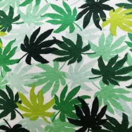 Single Jersey Arlia Palm Green