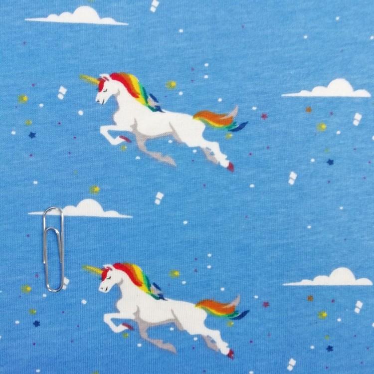Single Jersey Cloud Unicorn