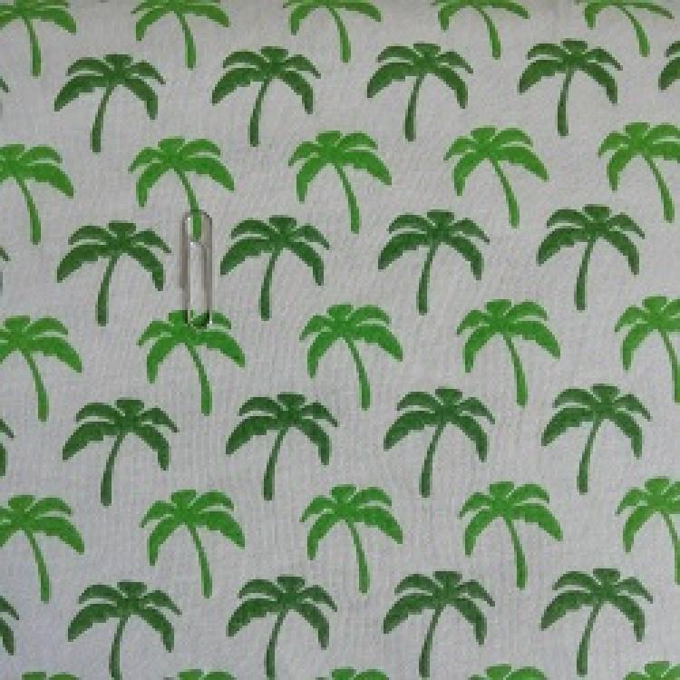 Single Jersey Palms Natural