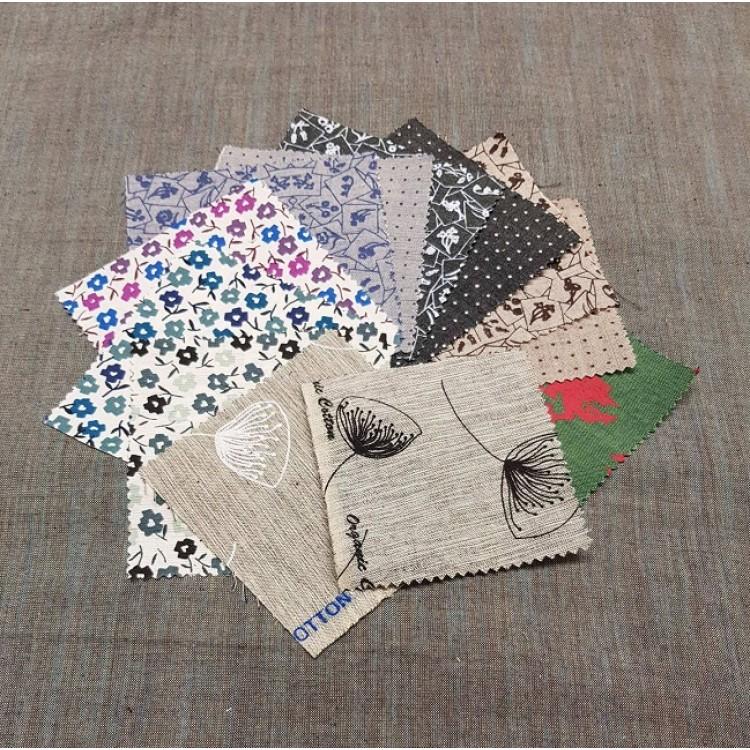 Crossweave Prints - Fabric Samples