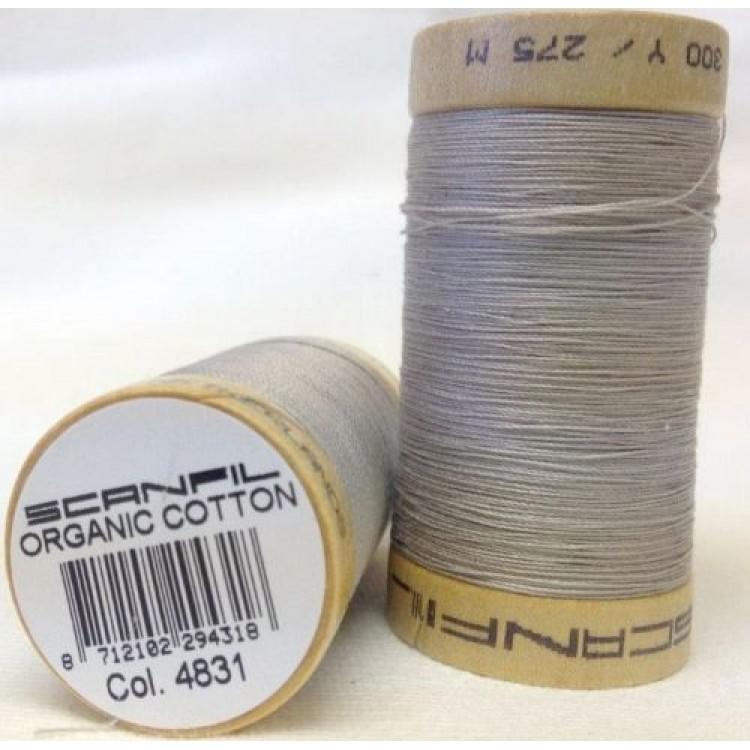 Thread 4831 Light Grey - Scanfil 300yds