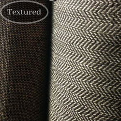 herringbone organic cotton textured fabric, organic cotton furnishing